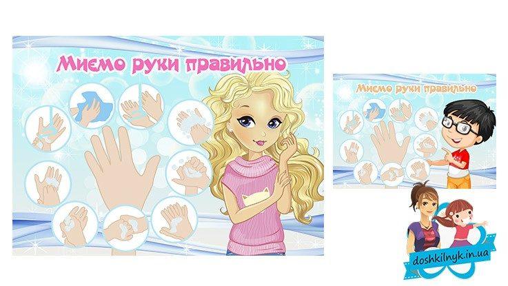 алгоритм миття рук в днз