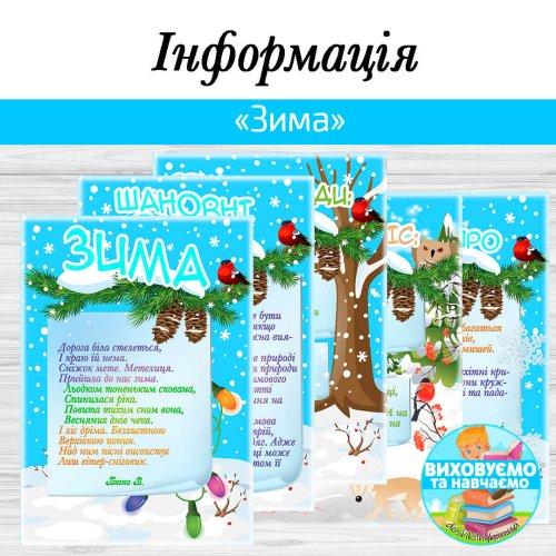 """Інформація """"Зима"""""""