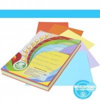 Набір кольорового паперу інтенсив, А4, (5 кольорів по 50 аркушів, 250 аркушів)