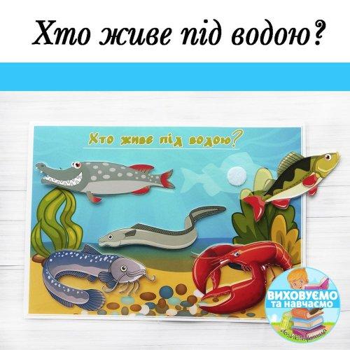 Гра «Хто живе під водою»