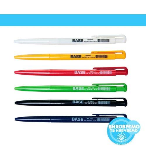 Ручка кулькова автоматична JOBMAX, синій